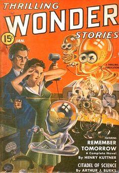 Thrilling Wonder Stories, January 1941