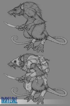 Rat Man - Polycount Forum