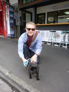 Martin with a pug. your argument is invalid