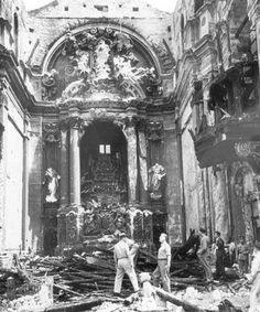 Incêndio da igreja do Largo de S. Domingos