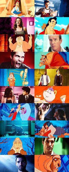 Sterek (pictures) - Beauty and the beast - Wattpad Teen Wolf Memes, Teen Wolf Quotes, Teen Wolf Funny, Teen Wolf Werewolf, Dilan O Brien, Sterek Fanart, Teen Wolf Ships, Disney Pictures, Disney Pics