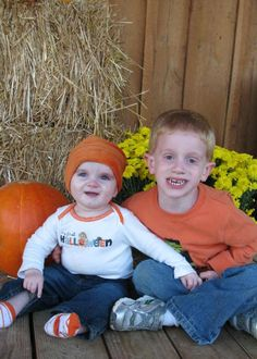 Fall pictures with kids