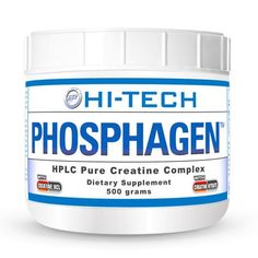 Hi Tech Pharmaceuticals Phosphagen | 500 Grams Quantum Leap in Creatine…