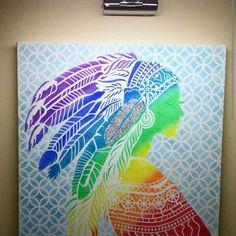 #kizilderili #nativeamerikan#isiksanati #colordimensions #lightart