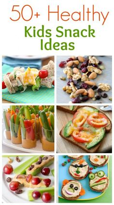 50+ Healthy Kids Snack Ideas roundup from TastesBetterFromScratch.com
