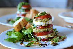 TytDIY: Tomaatti-mozzarellatorni