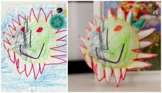 3D Childhood: Crayon Creatures Turns Kid's Drawings Into Sculpture | Creativity on GOOD