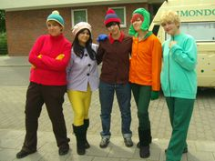 awesome south park cosplay 1 by eric cartmandeviantartcom - Southpark Halloween Costumes