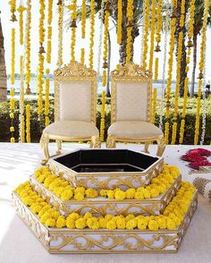Elegance is in simplicity, and we are loving this minimalist, bright yellow and white wedding decor by the Dubai Creek by @baqaawdc.  Location- @ParkHyattDubai Photo Courtesy- Wedding Planners @baqaawdc (Dubai UAE)  #minimalist #gendaphool #marigold #yellowandwhite #parkhyattdubai #dubaiwedding #weddingdecor #pheras #dubaicreek #decorideas #mandap #weddingelements #wedding #indianweddings #weddingsutra #drapes #dday #indianweddings #indianbride #indiangroom #destinationweddings