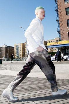 Albino Model Fashion Shaun Ross