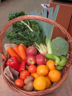 Sydney Food Connect produce - local farmers; sustainable. $6.60 delivery. Set boxes.