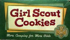 Girl Scout Cookies  c. 1963
