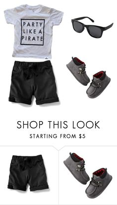 """""""Party Like A Pirate"""" by babiesswardrobe ❤ liked on Polyvore featuring Old Navy, Carter's, men's fashion and menswear"""