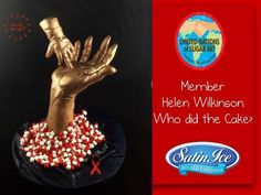 Giving AIDS the finger #BeTeamRed - Cake by Who did the cake (Helen Wilkinson)