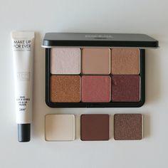 Make Up For Ever Artist Color Shadows + Step 1 Skin Equalizer Eye Primer