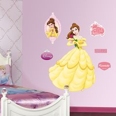 Belle Fathead Wall Decal