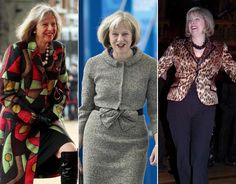 Home Secretary Theresa May's fashionable moments