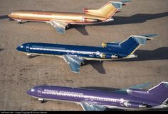 High quality photo of N8855E (CN: 20617) Braniff International Airlines Boeing 727-225(Adv) by Duncan Stewart