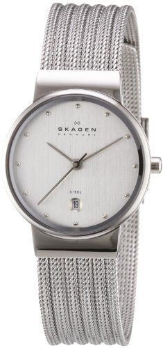 Vous aimez les montres Skagen ? Découvrez notre sélection avec un large choix de références pour homme ou femme.   Skagen - 355SSS1 - Montre Femme - Bracelet de Skagen Designs UK, http://www.amazon.fr/dp/B0026JH70O/ref=cm_sw_r_pi_dp_N2Ttrb1SGK3WC