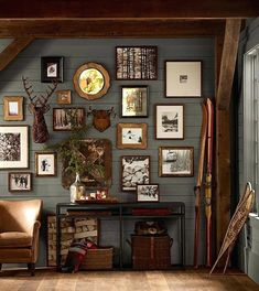 best rustic living rooms - Google Search
