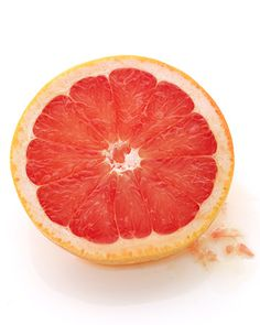 Grapefruit    As you might have guessed, grapefruits are full of vitamin C, a major antioxidant that helps fight infection, may shorten the duration of colds, and protects against free radicals.    Grapefruit Recipes  Warm Grapefruit Tea  Glazed Salmon with a Spicy Grapefruit Relish  Scallops with Red Grapefruit