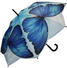 Full Size Blue Morpho Umbrella
