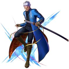 Vergil from Project X Zone 2