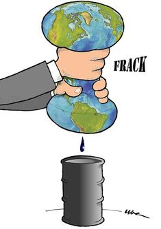 Gianfranco Uber  (2015-04-16)  State regulators for the first time have linked earthquake activity in Ohio to fracking, confirming the suspicions of activists pushing for a ban. The technology, given the huge availability would allow the U.S. to be virtually autonomous in hydrocarbon production and even export them but...  THE FRACKING TECHNOLOGY - Subroom: Grrrowd: Tar Sands Devastation in Canada->http://www.cartoonmovement.com/newsroom?fq=subroom.62