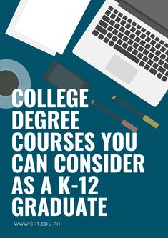 Do you want to move further to college? Here's a variety of college degree courses you can pick in line with K to 12 tracks and strands. College Courses, Career Choices, Student Life, High School Seniors, Strands, Track, Study, Blog, Studio