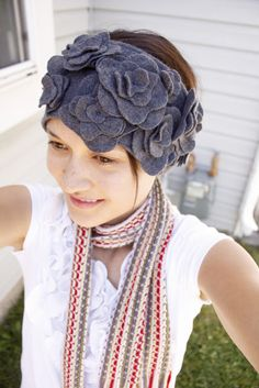 blossom ear warmer - delia creates