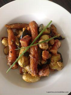 Cocotte de petits légumes nouveaux par La Petite Cuisine de Nat