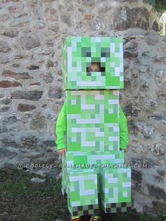 Coolest Minecraft Creeper Costume... Coolest Halloween Costume Contest