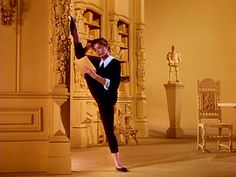 American in Paris. Leslie Caron