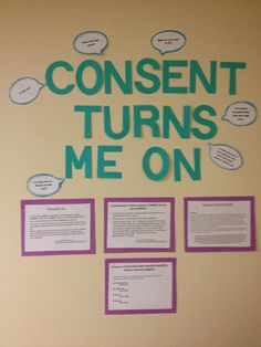 Bulletin on consent! #Reslife