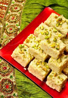 Recipe+Using+Ricotta+Cheese+Rasmalai | Easy Kalakand (Sweetened Ricotta Cheese Squares)