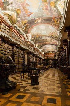 Biblioteca de Praga.