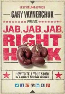 Read 'Jab, Jab, Jab, Right Hook: How to Tell Your Story in a Noisy Social World' to write stories that sells.
