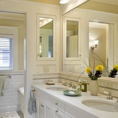 Sconces In Mirrors Design, Pictures, Remodel, Decor and Ideas - page 12