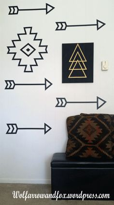 No special equipment needed for this DIY decal wall art. Click through for more details!