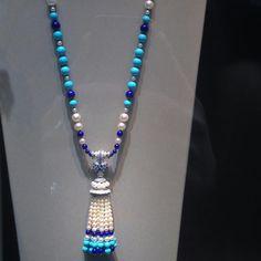 @angeloxdexluca. @vancleefarpels #amazing #necklace  #diamonds #gold #turquoise #lapislazuli #pearl  #vancleefarpels