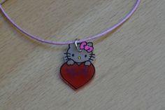 Plastique fou collier hello kitty