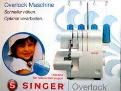 SINGER 14SH654 OVERLOCKMASCHINE: Amazon.de: Elektronik