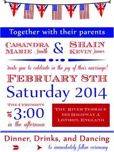 Kristen Tom British American Wedding