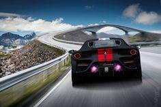 Matte Black Ferrari 458 MM Speciale