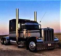 Millions of Semi Trucks Show Trucks, Big Rig Trucks, Dump Trucks, Peterbilt 379, Peterbilt Trucks, Chevy Trucks, Custom Big Rigs, Custom Trucks, Truck Roof Rack