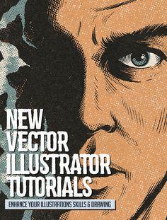 25 New Vector Illustrator Tutorials to Enhance Your Drawing & Illustration…