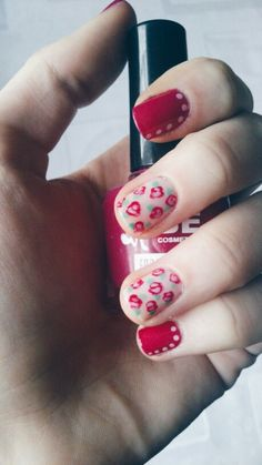 #nail #róże #rose #red #flowers