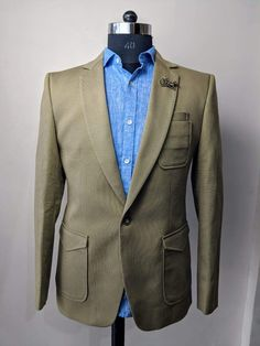 0dd489aa5df8 Donegal 3 Piece Gunmetal Tailored Suit by Gibson London | 1