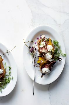Roasted beets with n