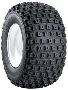 8. Carlisle Knobby ATV Tires - 145/70-6 Golf Push Cart, Golf Carts, Lawn Mower Tires, Snow And Rock, Atv Wheels, Best Atv, New Carlisle, Tire Tread, Driving Safety